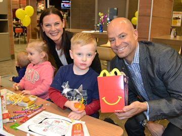 Park Place McDonald's celebrates grand opening in Barrie by supporting youth mental health at RVH