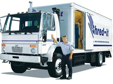 Shred-it Truck coming to Arnprior