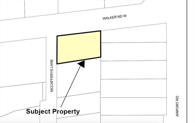 What's going on here? Caledon property owner asking to turn 1 lot into 2 in Caledon East