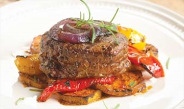 Steak with roast vegetables perfect for barbecue– Image 1