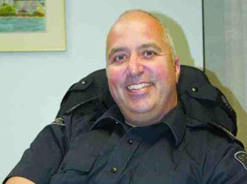 New police chief, Mark MacGillivray