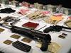 Cash, guns seized