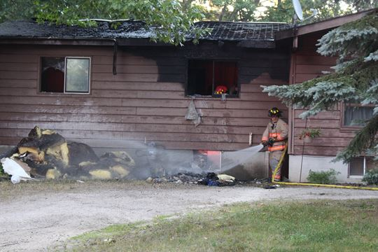 family pet dies in wasaga house fire simcoe