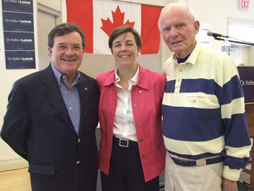 Leitch mourns loss of mentor
