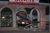 Car crashes into Falls donut shop