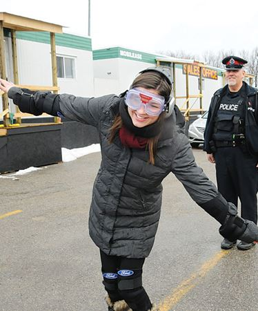 Barrie Advance reporter stumbles through sobriety test