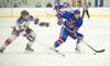 IN PICTURES: Rangers, Jr. Canadiens in battle of North York
