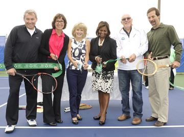 North Burlington Tennis Club makeover