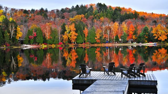 Laurentian Mountains Fall