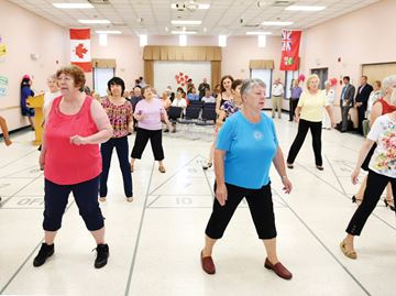 Whitby senior dancers