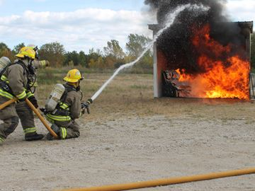 Firefighting demonstrations wow Meaford crowd