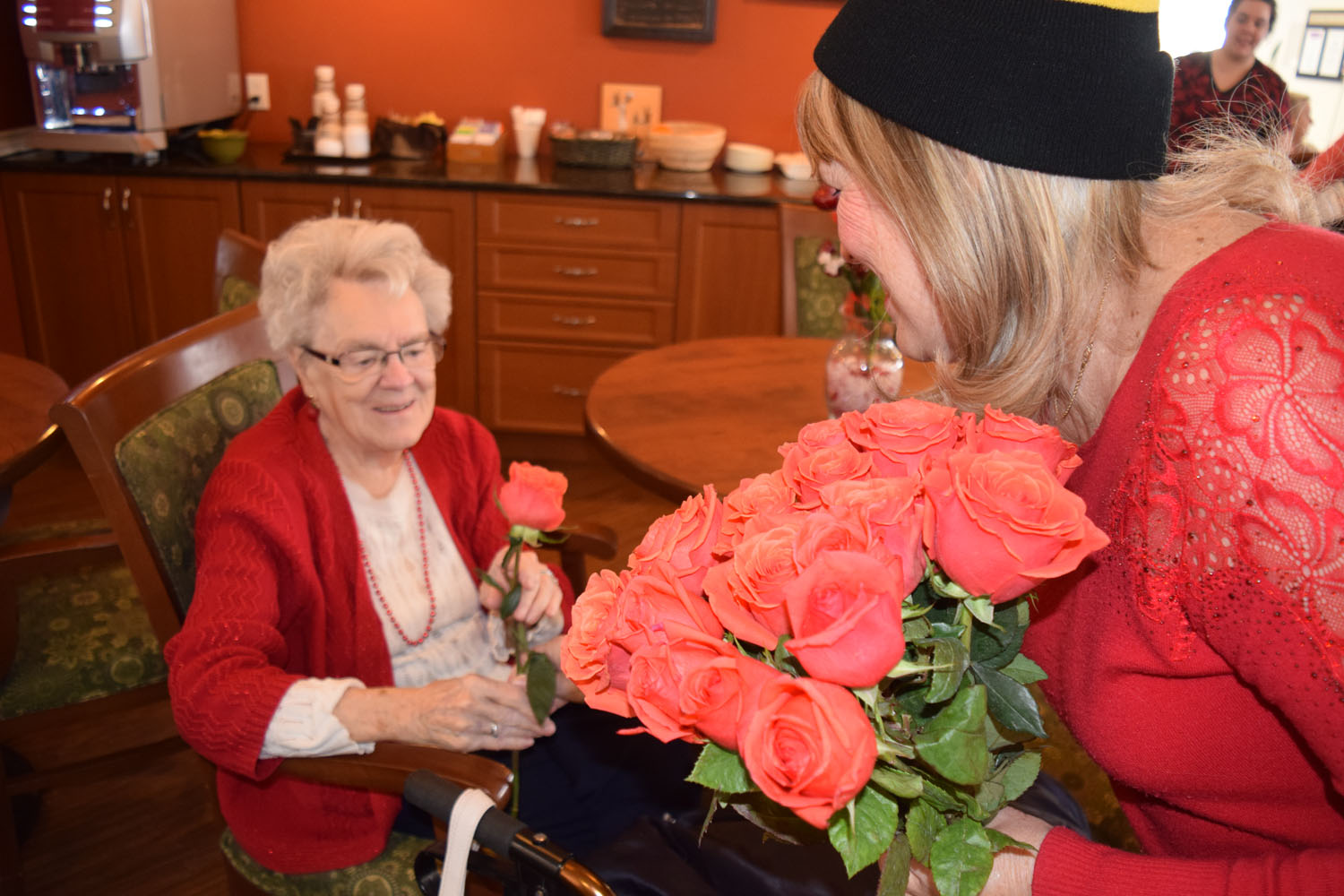Smiths Falls council spreads love to seniors on Valentine's