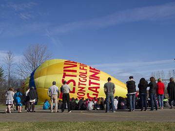 Baloon excitement