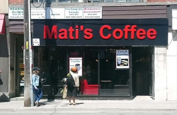 New business Mati's Coffee