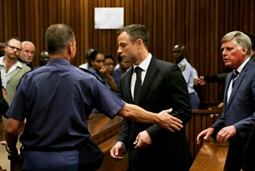 Oscar Pistorius starts serving 5-year prison term-Image1