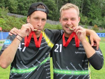 Ultimate Frisbee duo from Barrie off to worlds