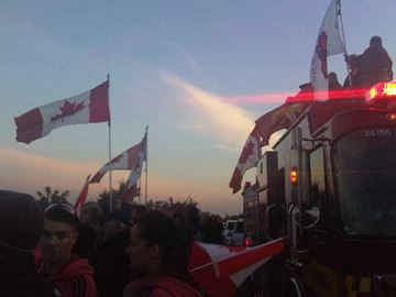 In tribute to Cpl. Nathan Cirillo