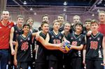 Durham Attack U14 boys' volleyball