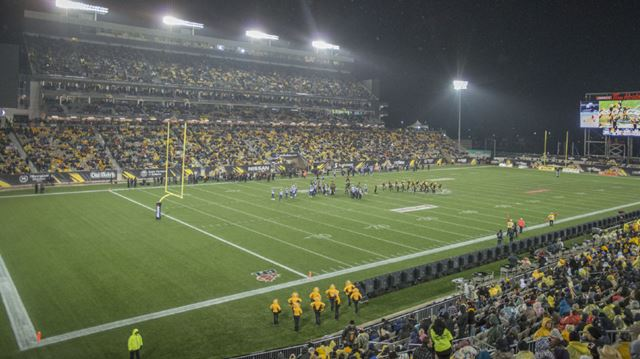 Tim Hortons Field The Smell Of Victory Thespec Com