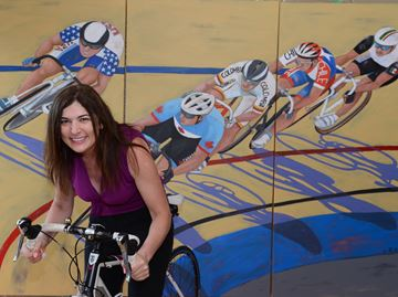 Oakville artist's works put a new spin on Pan Am Games