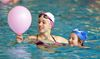 London Synchro Club Burning Bright for Breast Cancer fundraising relay on