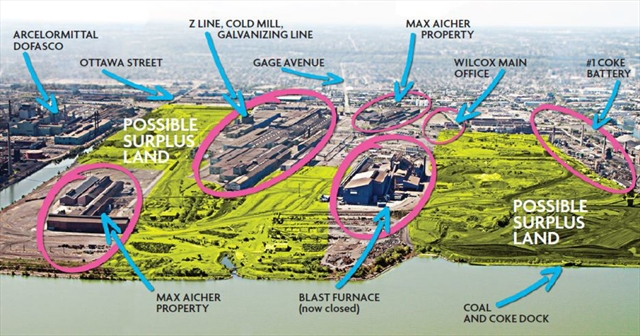 Surplus Land At U S Steel Is On The Market And That S Seen As A Good Community Building Opportunity For The City So What Will Become Of It
