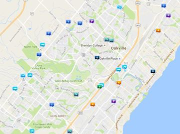 Crime in Oakville at a glance July 25-26