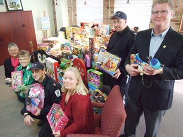 Orillia Tickets for Toys a success