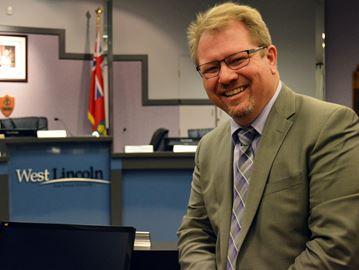 West Lincoln Mayor Doug Joyner
