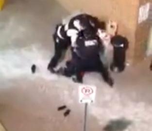 Arrest on tape