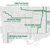 TTC express routes