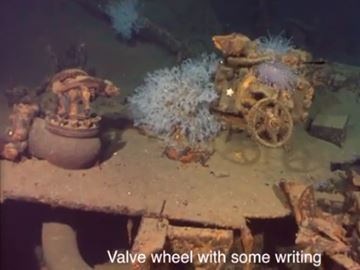 Sunken Japanese battleship discovered