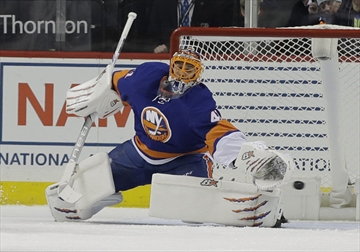 Islanders place goaltender halak on waivers for Aaina salon waterloo