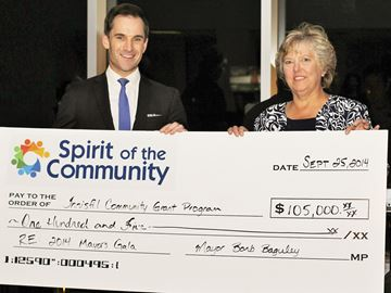 Innisfil Mayor's Gala raises $105,000 for community fund