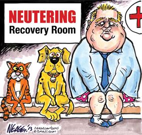 Steve Nease on Rob Ford's powers