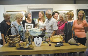 Gallery offers sneak peek at studio tour