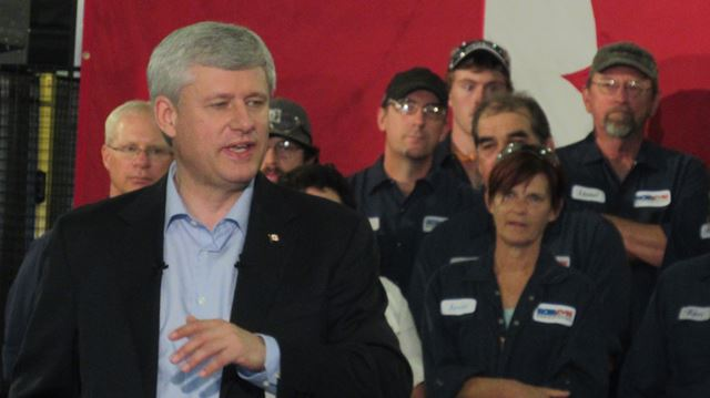 PM Stephen Harper