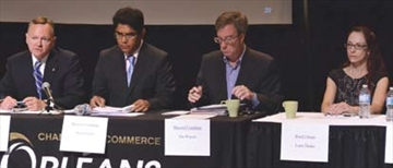 Debate focuses on business, transit– Image 1