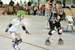 A little roller derby for a worthy cause in Port McNicoll