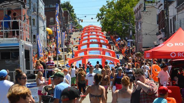 Urban Slide transforms downtown Penetanguishene