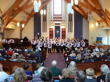 York Region Community Choir hosts Canada in December at Trinity Anglican Church in Aurora, Saturday. (Nick Iwanyshyn/York Region Media Group)