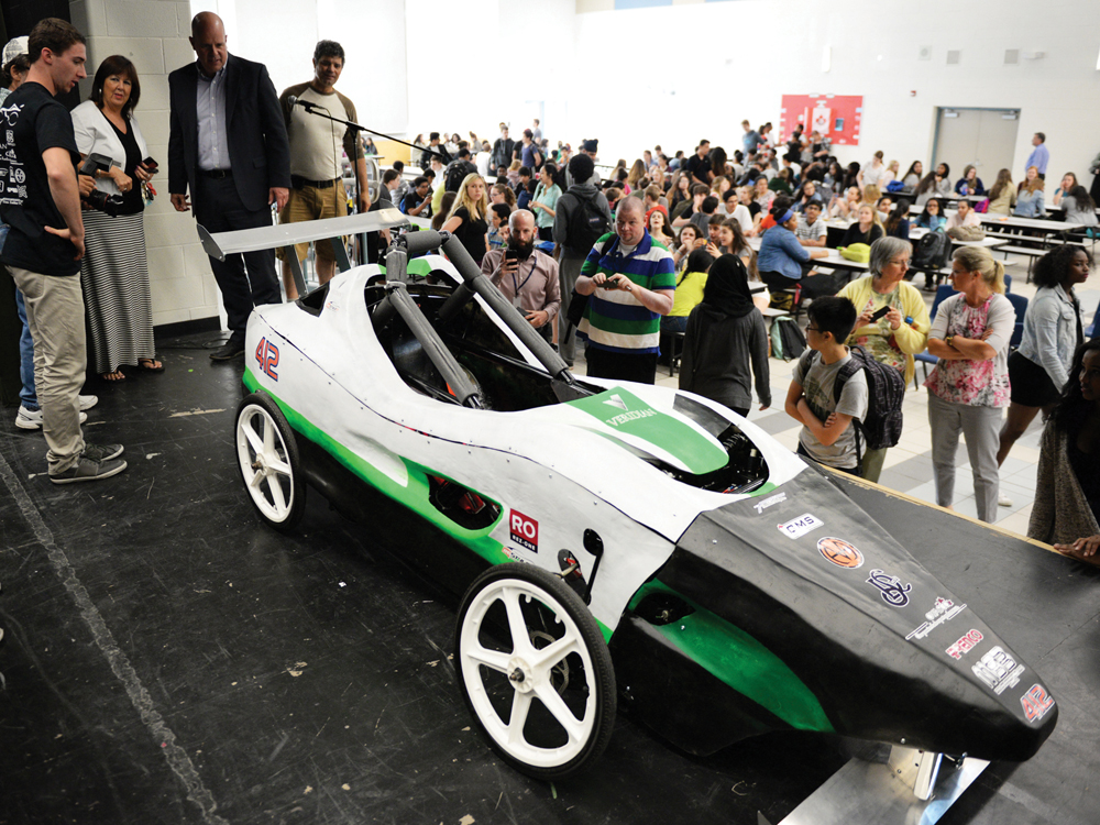 But The Team Didn T Go Home Empty Handed And Was Awarded Rookie Of Year For Innovation Utter Impressiveness Our Car He Said