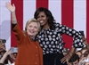 Clinton and Michelle