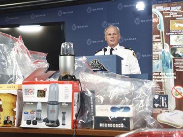 Seizure of $2.5 Million in Counterfeit Merchandise