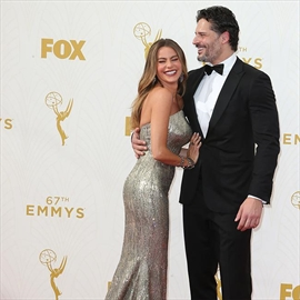 Sofia Vergara and Joe Manganiello celebrate first anniversary-Image1