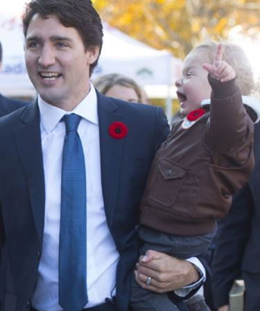 TRUDEAU AND FAMILY