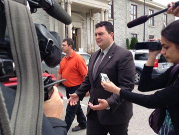 MP Del Mastro At Court