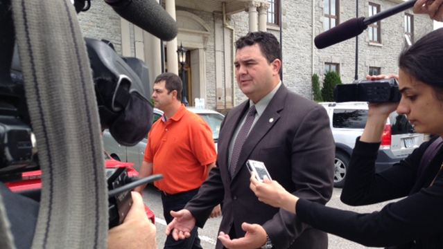 MP Del Mastro At Court