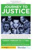 Documentary Journey to Justice presented at Sheridan College in Oakville