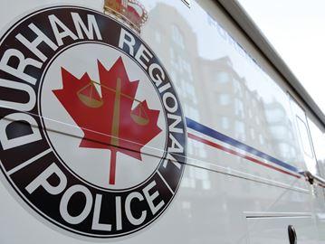 Durham Police van